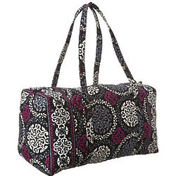Vera Bradley Large Quilted Duffel Bag