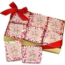 Bee My Valentine Graham Cookies Gift Box