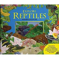 Explore Reptiles Children's Book