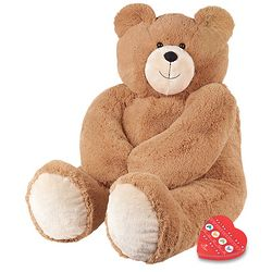 Big Hunka Love Teddy Bear and Chocolates
