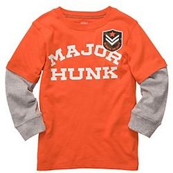 Boy's Major Hunk Layered T-Shirt