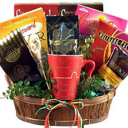 Cabin Fever Gourmet Coffee Gift Basket