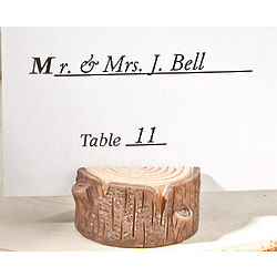 Little Stump Place Card Holder