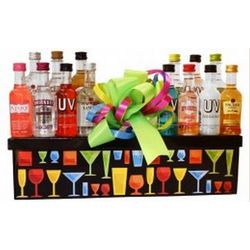Cocktail Party Mini Bar Gift Set