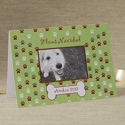 Fleas Navidad Personalized Pet Christmas Cards