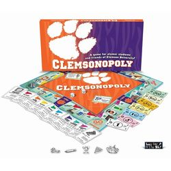 Clemson-opoly Clemson University Monopoly Game