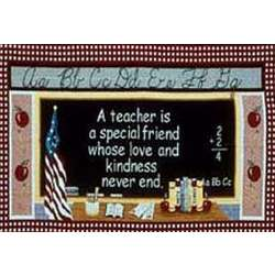 Teacher Is Special Tapestry Throw