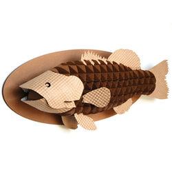 Animal Friendly Cardboard Mounted Bass