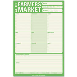 Farmers' Market Note Pad