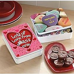 Personalized Valentine Tin