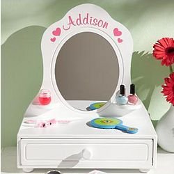 Personalized Lil' Princess Vanity Mirror