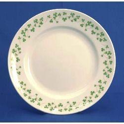 Century Shamrock Side Plate