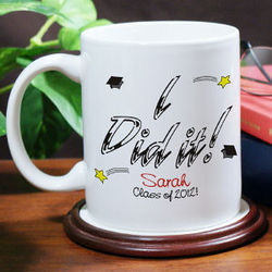 I Did It Graduation Coffee Mug