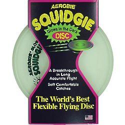 Glow in the Dark Squidgie Flexible Flying Disc