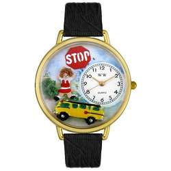 School Bus Driver Watch with Miniatures