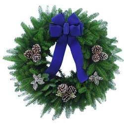 Balsam Fir Holiday Wreath