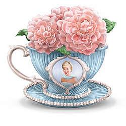 Princess Diana Tribute Teacup Figurine