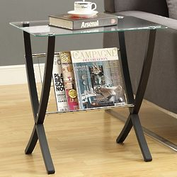 Bentwood Magazine Table