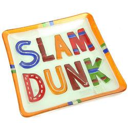 Glass Slam Dunk Platter