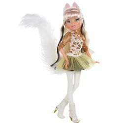 Fancy White Persia Cat Cloe Doll