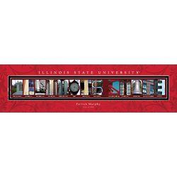 Illinois State University Personalized Architecture Print