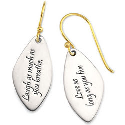Laugh and Love Earrings