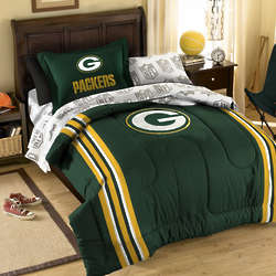 Green Bay Packers Bed-in-A-Bag Set in Twin
