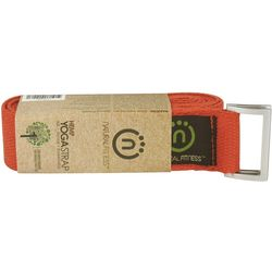 Flame 8-Foot Hemp Yoga Strap