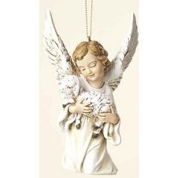 Angel and Lamb Ornament