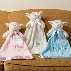 Personalized Soft and Sweet Lamb Blanket