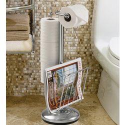 Steel Toilet Caddy Organizer and Dispenser