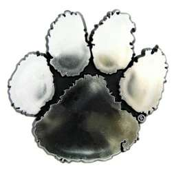 Clemson Tigers Silver Auto Emblem
