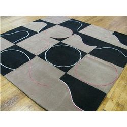 Gabbeh Contemporary Rug - 5' 7 x 7' 9