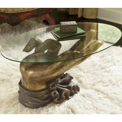 'Give a Hand' Coffee Table