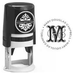 Extra Ornamental Initial Self-Inking Stamper