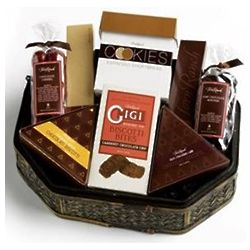 Chocolate Lover's Wooden Gift Tray