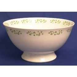 Century Shamrock Serving Bowl