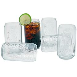 Coca Cola Classic Drinking Glasses