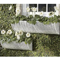 Small Basket Window Planter