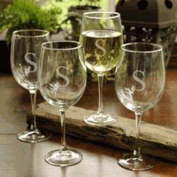 Personalized Wine Stemware