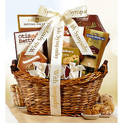 We Share Your Loss Sympathy Gift Basket