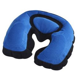 Inflatable Neck Pillow with Memory Foam