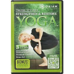 Yoga Strengthen & Restore DVD with Trudie Styler