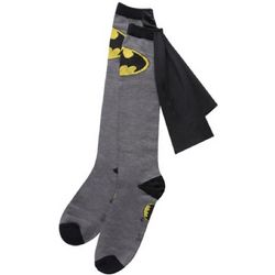 Batman Superhero Knee-High Cape Socks