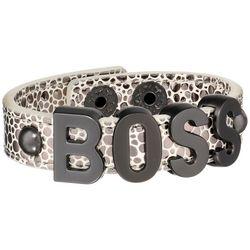 Boss Textured Bracelet