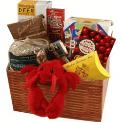 Taste of Boston Deluxe Gift Basket