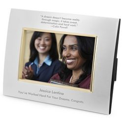 Landscape Classic Bevel Silver and Gold Picture Frame