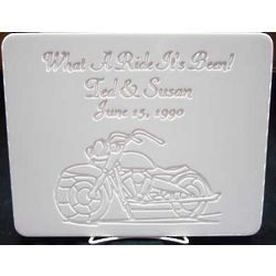 Personalized Motorcycle Cutting Board