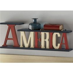 America Table or Wall Shelf