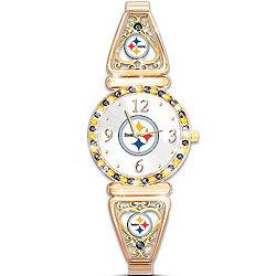 My Steelers Ultimate Fan Women's Watch